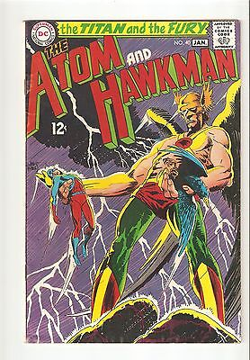 The Atom and Hawkman #40 (Jan 1969 ) VG/FN  5.0