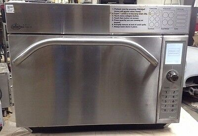 Countertop CONVECTION OVEN Amana AXP20 Microwave TurboChef Electric High Speed