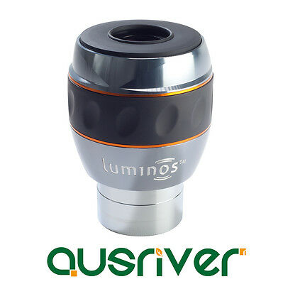 Celestron Luminos 23 mm Eyepiece with Wide 82º Views Fully Multi Coated 93434