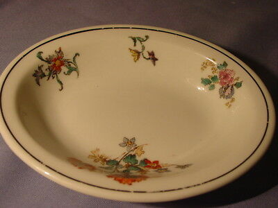 Vintage Lamberton Scammell Flowers Small Oval Dish