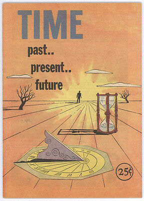 Time - Past.. Present.. Future - 1958 Giveaway Comic Book From Paragon Electric