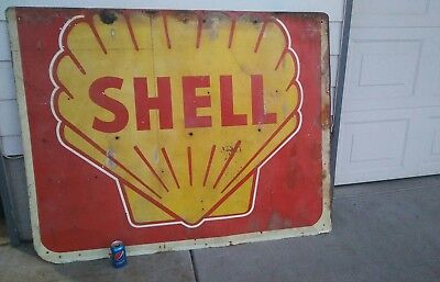shell gasoline sign foud in old barn