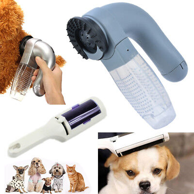 Pet Dog Cat Hair Remover Comb Vacuum Cleaner Trimmer Shedding Grooming Brush