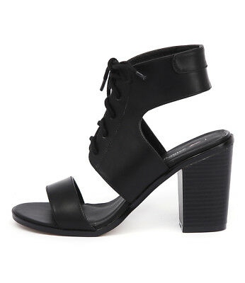 New I Love Billy Brillie Black Womens Shoes Casual Sandals Heeled