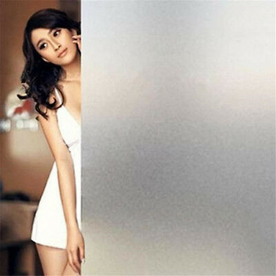 90CM*5M Removable Waterproof PVC Privacy Frosted Glass Window Film Sticker