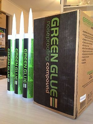 Green Glue Noiseproofing Compound - 15 Tubes