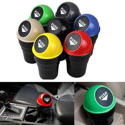 Popular Car Waste Trash Rubbish Bin Can Garbage Dust Case Holder For Home Auto