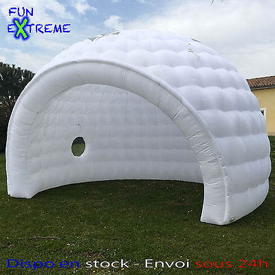 Bubble tent igloo dome gonflable 6m