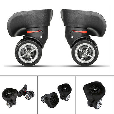 Universal wheel replacement swivel wheels PVC for luggage suitcase trolley lugga