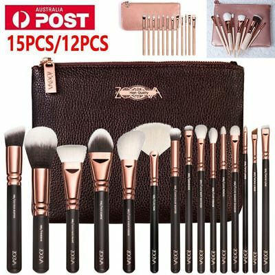 NEW Rose Golden Makeup Complete Cosmetic Kit Eye Power Brushes Set +Package 2017