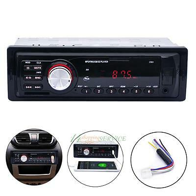 Bluetooth Car Stereo Radio Head Unit Para Reproductor MP3 USB SD AUX-IN