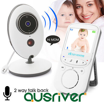 Premium Protable Wireless Video Baby Monitor with Digital Camera Night Vision