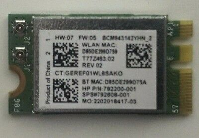 Genuine Intel HP WiFi Wireless Card Broadcom (792200-001) For Laptop