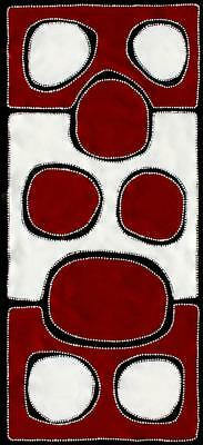 Aboriginal Art Painting by Sally Clark 56cm X 127cm