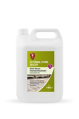 LTP External Stone Sealer 5 Litre - Water-Based Impregnating for Exterior Tiles