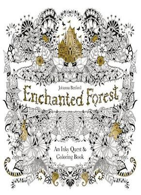 Enchanted Forest: An Inky Quest and Colouring Book,Johanna Basford