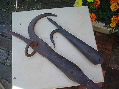 Large Antique Navy boarding Pike and Boat hook