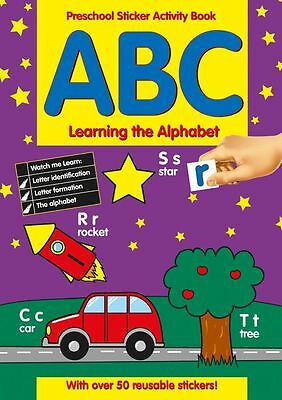 Preschool Sticker Activity Book Abc Learning The Alphabets 201/pssb Alligator