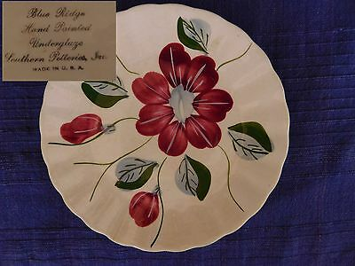 Blue Ridge Pottery Poinsettia SALAD PLATE  have more items to this set