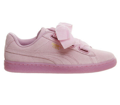 Womens Puma Suede Heart PRISM PINK Trainers Shoes