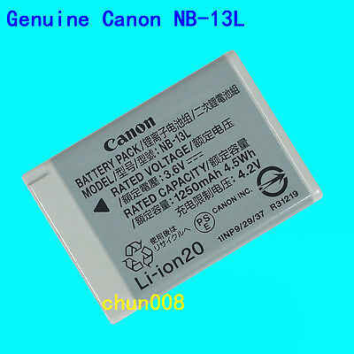 Genuine Original NB-13L NB13L Battery For PowerShot G7XII G7X G5X G9X SX720