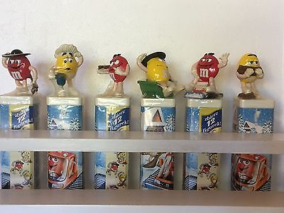 M&M's * #22 M&M's Lot of 16 Polish and European Toppers on Original Tubes M&Ms