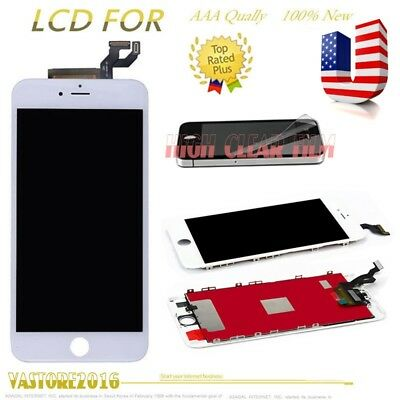 For iPhone 6S Plus White LCD Display Touch Screen Digitizer Assembly Replacement