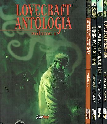 LOVECRAFT PACK 6 volumi (Culbard) in OFFERTA ed.Magic Press NUOVO