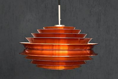 Pendelleuchte kupferfarben Pendant lamp Granhaga Sweden copper colored