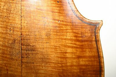 18 century 4/4 ITALIAN? violin TESTORE- BETTS plays grafted prolonged at heel