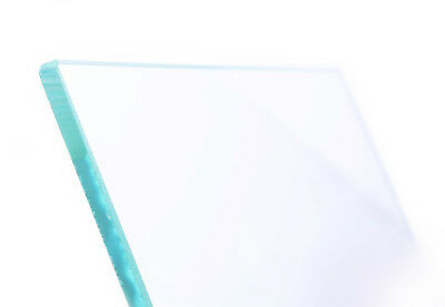 Floatglasplatte 240x240x4mm float glass plate Druckplattform build platform