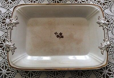 T Furnival & Sons Antique Ironstone Tea Leaf Platter