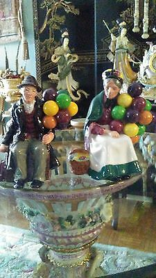 Royal Dolton figurines- Old Man & Old Lady PAIR!