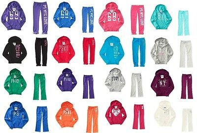 Nwt Aeropostale Ps Kids Zip Up Hoodie Sweatshirt And Sweatpant Outfit Lot Sets