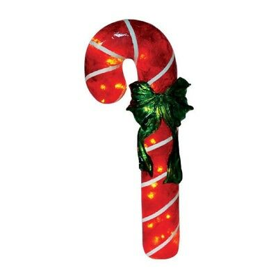 Large LightUp Candy Cane - 87cm