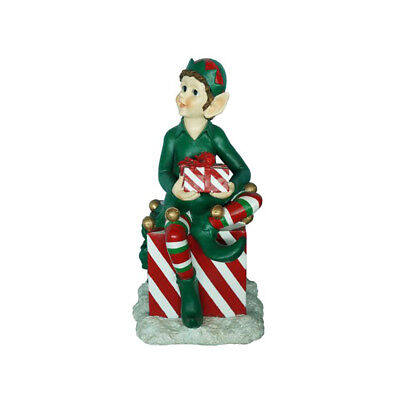 Elf on Christmas Presents - 86cm