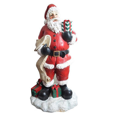 Large Christmas santa with list - 173cm