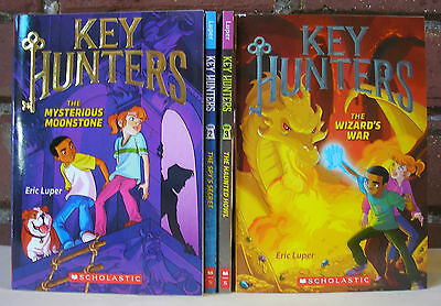 Key Hunters Lot 4 Eric Luper Kids Chapter Books Adventure Fantasy 1 2 3 4