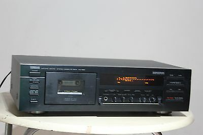 RARE Yamaha KX -690 3 Head Cassette Deck. Yamaha HIGH END CASSETTE DECK