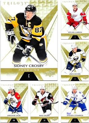2016-17 Trilogy *** PICK YOUR CARD *** From The Base Set (#1 to #50)