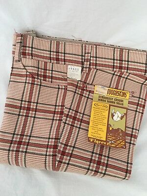 Vintage NWT Sears Toughskins Perma Prest Jeans 28/32 Flares Plaid