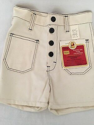 Vintage Rare Winnie The Pooh Collection Sears Children's Shorts Size 6