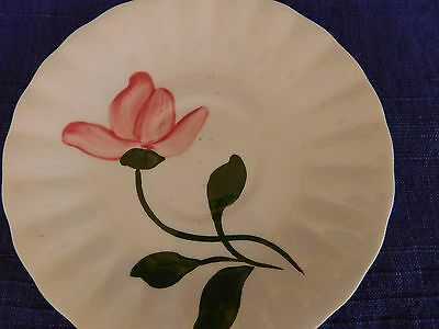 Blue Ridge Southern Pottery Pink Flower SAUCER have more items DISCOUNTED