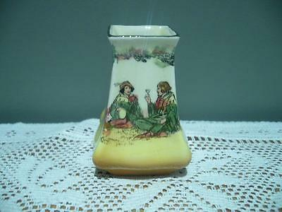 Vintage Royal Doulton 'under The Greenwood Tree' Series Ware Miniature Vase
