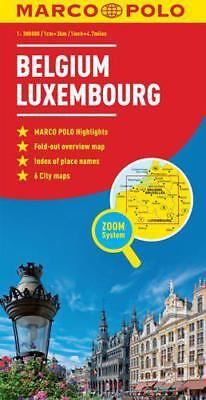 Belgium / Luxembourg Marco Polo Maps by n/a | Map Book | 9783829767118 | NEW