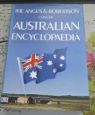 The Angus and Robertson Concise Australian Encyclopedia, HCDJ