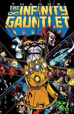 Infinity Gauntlet TP by Jim Starlin & George Perez - Thanos Avengers Spider-man