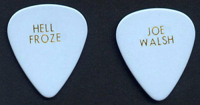 Super Rare 1994 Joe Walsh Hell Froze Guitar Pick Hell Freezes Over Tour Eagles
