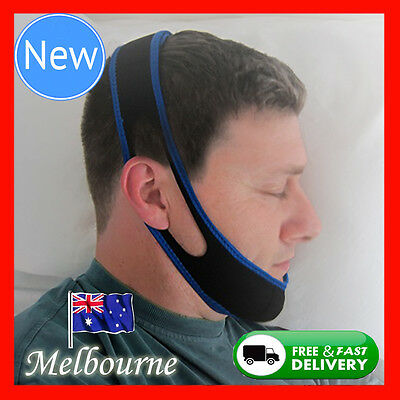 NEW Anti Snore AntiSnore Device Jaw Strap Stop Snoring Solution Chin Support