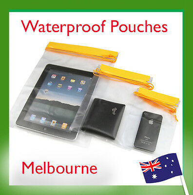3pcs Waterproof iPad3 Air Camera Mobile iPhone Pouch Dry Bag PVC Case Fishing